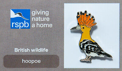 RSPB Pin Badge | hoopoe GNAH (00284)