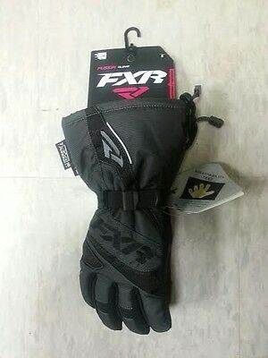 FXR WOMENS FUSION CHARCOAL GRAY COLD WEATHER SNOW WINTER GLOVES -Large - XL -NEW
