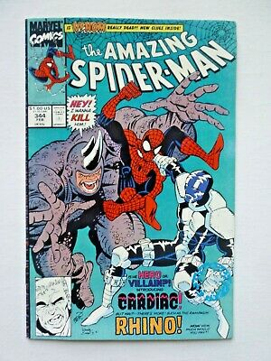 Amazing Spider-Man 344 First Appearance Of Cletus Kasady Marvel Comics 1991