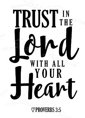 Image result for trust in the lord with all your heart free images