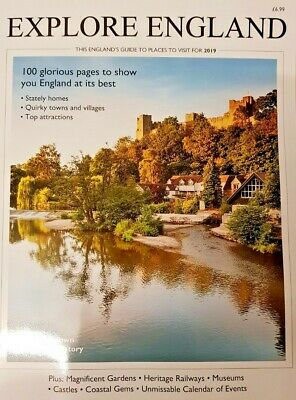Explore England Magazine 2019 = Stately Homes = Quirky Towns And Villages Ludlow