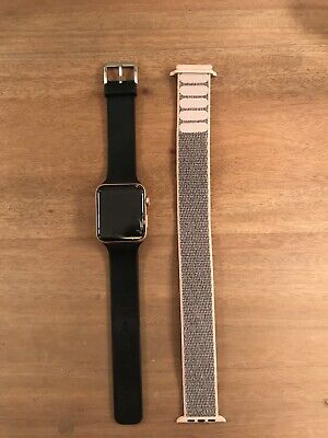 Cracked apple watch series 3 42mm Gold GPS+LTE