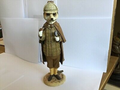 Superb Country Artists Magnificent Meerkats Sherlock Holmes Figure