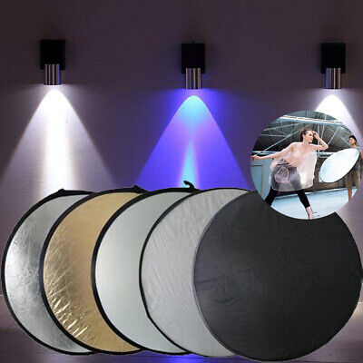 """60cm - 5in1 Multi Photo Disc Collapsible Light Reflector Photography Studio 24"""""""