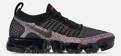 huge selection of 567c0 b116c Nike Air Vapormax Flyknit 2 UOMO Running Nero - Racer Rosa - Blu Nuovo  Taglie