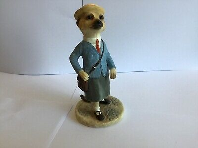 Superb Country Artists Magnificent Meerkats Eve School Girl Figure