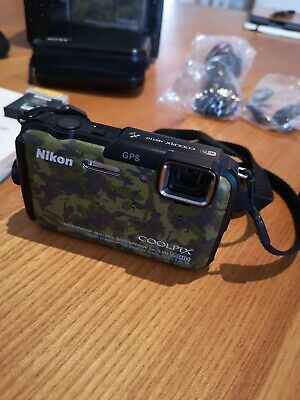 Nikon Coolpix AW110-16MP Waterproof GPS Wifi-Comme neuf-Near mind condition