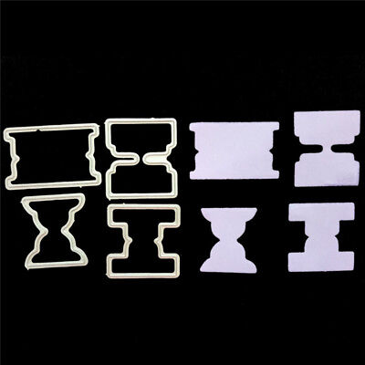 4pcs Funnels Metal Cutting Dies Stencil for DIY Scrapbooking Album Paper CardsA!