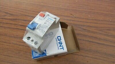 CHINT NL1-63 40A 40 Amp 30MA DOUBLE POLE DP RCD RCCB