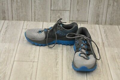 Saucony Xodus ISO 2 Running Shoes - Women's Size 7.5 - Gray/Blue