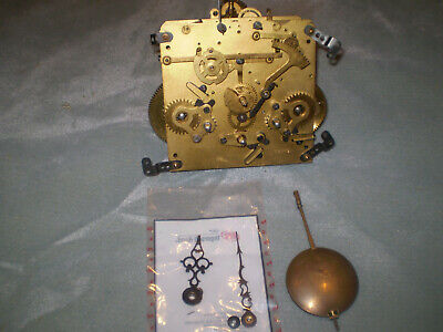 Antique Vintage Mauthe Germany Westminster Chime Mantel Clock Movement