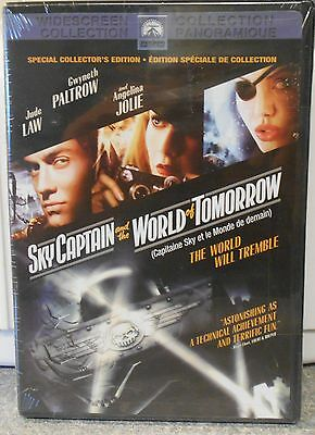 Sky Captain and the World of Tomorrow (DVD 2004 Canadian) RARE ACTION BRAND NEW