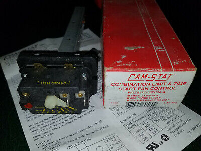 Cam-Stat Falts 57C-05T-120 FALTS57C05T120A Combination Fan Limit & Time control