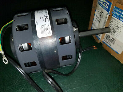 "Nos S88-232 Fasco D156 Furnace Motor 5"" 1/6 Hp 1050 Rpm 115V 71510127"