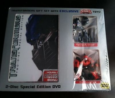 Transformers DVD (2007) 2-Disc Special Edition Best Buy Exclusive / BOX CORNER