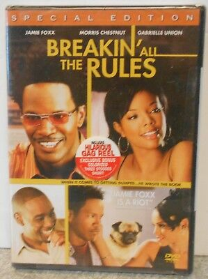Breakin' All the Rules (DVD 2004 Special Edition) RARE ROMANTIC COMEDY BRAND NEW