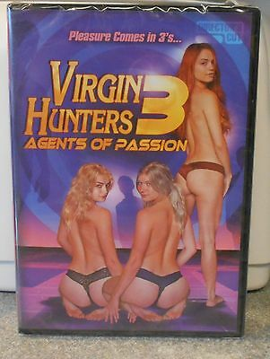 Virgin Hunters 3 Agents Of Passion (Dvd 2017) Rare Sci Fi Fantasy Brand New