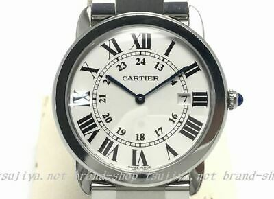 882381b87e6 Cartier Quartz Stainless Steel Watch Ronde Solo LM Auth