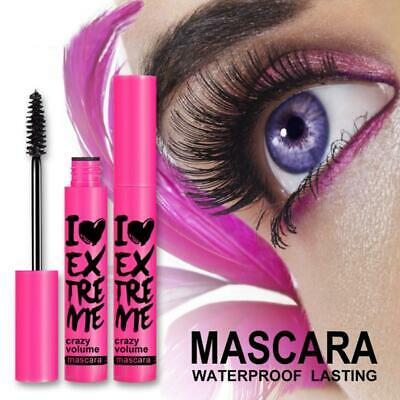 Mascara soie fibre fibres cils volume d'extension longue tenue maquillage longue
