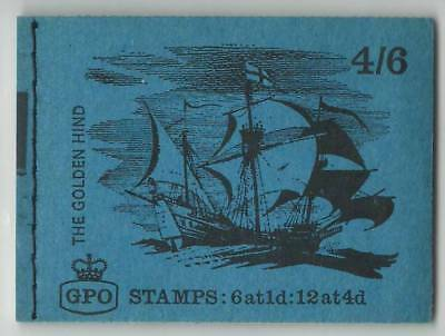 GB  September 1968  MNH Complete Stamps Booklet  4/6d GPO