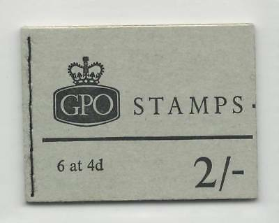 GB 1968 November  MNH Complete Stamps Booklet  2/- GPO