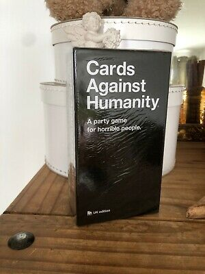 Cards Against Humanity UK Edition New/Sealed