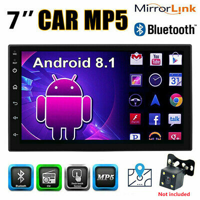 """7"""" 1080P 2Din Android 8.1 Car Stereo Radio GPS Wifi 3G/4G DAB Mirror Link OBD"""