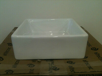 Small Baby Belfast Butler Sink - White Ceramic - Brand New Free Uk Delivery T1