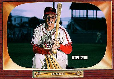 Stan Musial Baseball Card <Magnet> St Louis Cardinals Hall Fame All Star Series