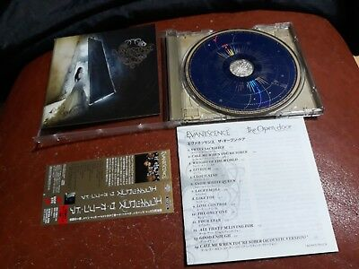 Evanescence - The Open Door Japanese CD / EICP 670 / +1 Bonus Track