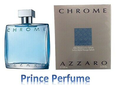 AZZARO CHROME UOMO AFTER SHAVE LOTION - 100 ml