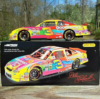 52ff0455e1676 Dale Earnhardt  3 GM Goodwrench  Peter Max 2000 NASCAR RCCA 1 24 DieCast