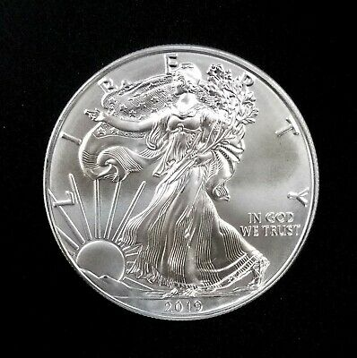 2019 American Silver Eagle! One Troy Oz. of 0.999 Fine Silver! NO RESERVE!