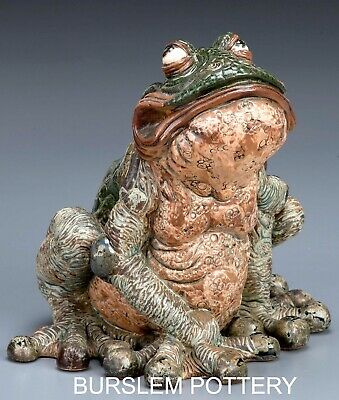 Burslem Pottery Grotesque Terrance The Toad Inspired By Martin Brothers