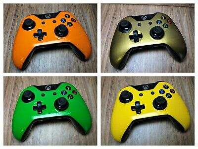 Microsoft Xbox One Wireless Controller Chrome Gold,Blue,Red,Green - Model 1537