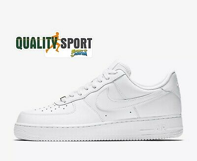 big sale 478b9 aa94e Nike Air Force 1  07 Bianco Scarpe Shoes Uomo Sportive Sneakers 315122 111  2019