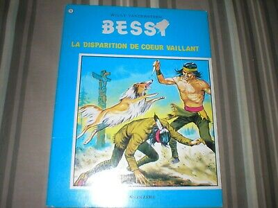 BESSY 071 - La disparition de coeur Vaillant - TB