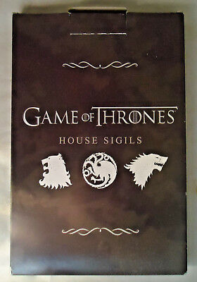 "Game Of Thrones House Sigils ""Stark"" Wall Hanging 9"" By 6"""