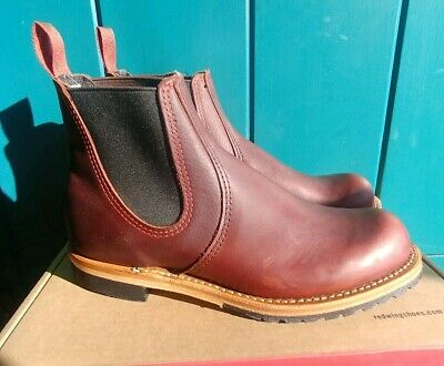 ba41a25440b RED WING HERITAGE 2917 Chelsea Rancher Boot Briar Oil Slick Men 8.5 ...