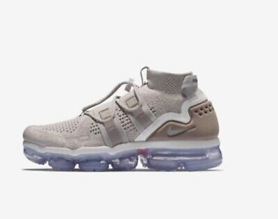 Nike Air Vapormax Flyknit Utility Moon Particle AH6834 205 Mens Size MSRP $225