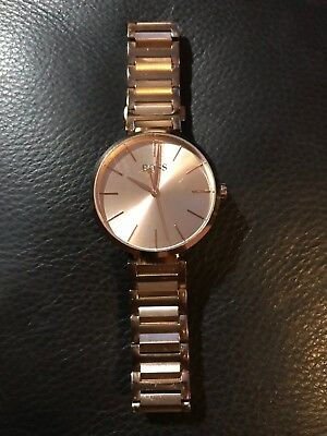 ffa4243c59fe LADIES HUGO BOSS Allusion Watch Colour Rose Gold Tone - £65.00 ...