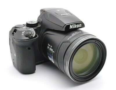 Nikon Coolpix P900 Compact Camera 16.0MP 83x Optical Zoom Full HD 24-2000 mm f28
