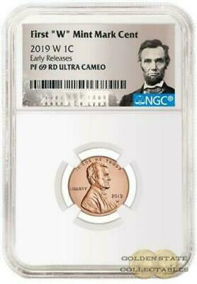 PRESALE- 2019 W Penny NGC PF69 RD Ultra Cameo Early Releases Lincoln Label