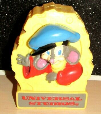 Rare Hard to Find 1986 Universal Studios An American Tail Fievel Coin Bank MINT