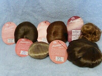 Lot of Five Monique Doll Wigs NEW (102)