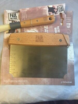 Paul Hollywood Dough Cutter And Pastry Brush