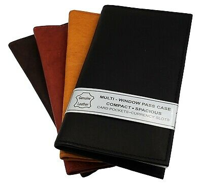 AG Wallets New Cowhide Leather Check Book Covers and Organizers Card Holder
