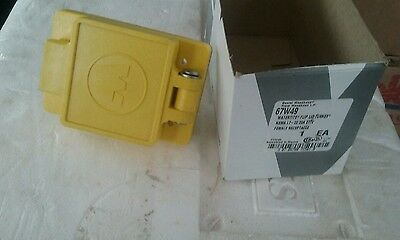 nib woodhead 67W49 watertite flip lid turnex female receptacle 277 v 20 amp