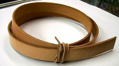 48mm Round Circles for Crafts Earrings 7//8 oz Veg Tan Leather Blanks Fobs