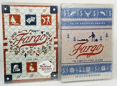 Fargo Season 1, 2 DVD LOT (The Complete First, Second) NEW